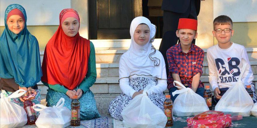 Eyyübiye Belediyesinin Bosna Hersek'teki ramazan etkinlikleri