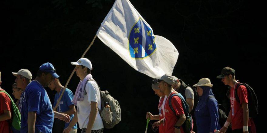 'Ölüm Yolu'nda 'Barış Yürüyüşü' sona erdi