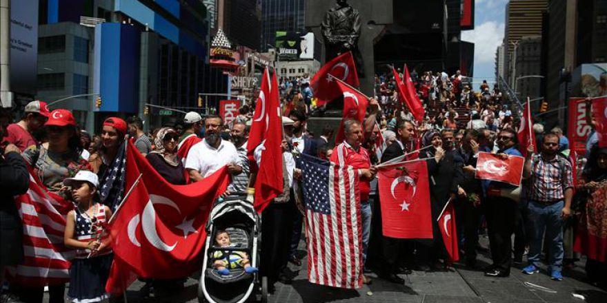 New York'ta 15 Temmuz Demokrasi ve Milli Birlik Günü