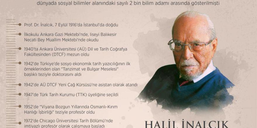 """""""Tarihçilerin duayeni"""" Halil İnalcık"""