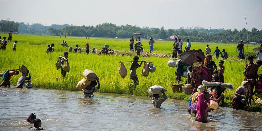 Arakanlı Müslümanların Bangladeş'e geçişleri devam ediyor