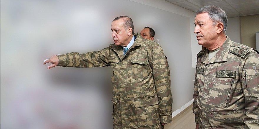 Cumhurbaşkanı Erdoğan Hatay'daki Harekat Merkezi'nde