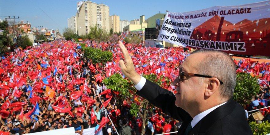 Adanalılar Başkomutan Erdoğan'ı Heyecanla Dinledi..