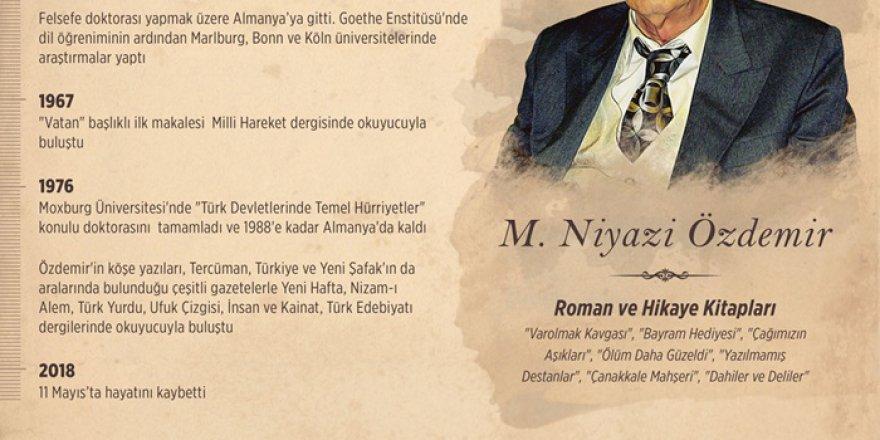 'Tarihi Romanlaştıran Yazar Mehmet Niyazi Özdemir'