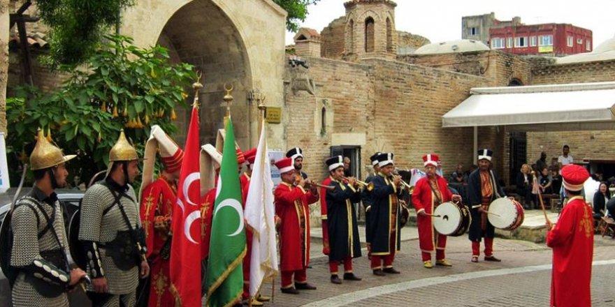 Adana'da Vakıf Haftası Kutlamaları MehteranGösterisi ile Devam Ett