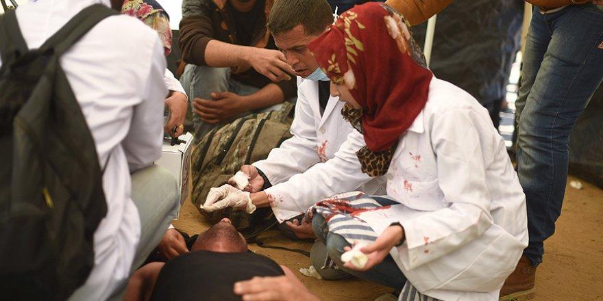 İsrail askerlerince şehit edilen Gazze'nin 'yardım meleği Rezzan