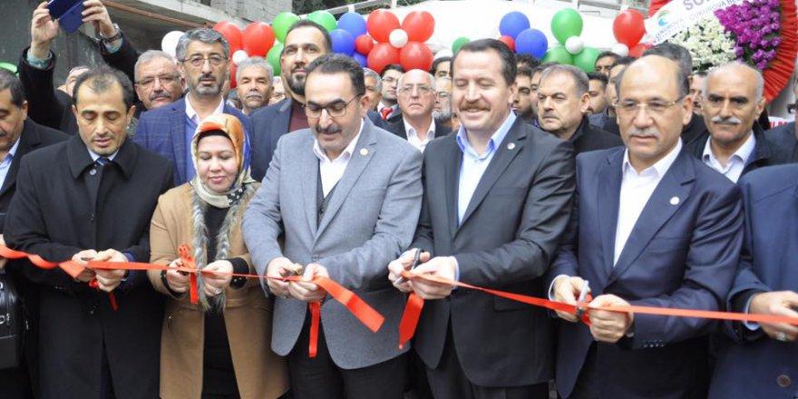 Memur-Sen ve Eğitim Bir-Sen Adana Şubesi Yeni Hizmet Binası Açılışı