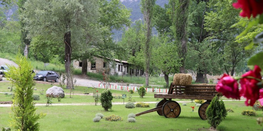 Belemedik Tabiat Parkı ziyaretçilerini bekliyor