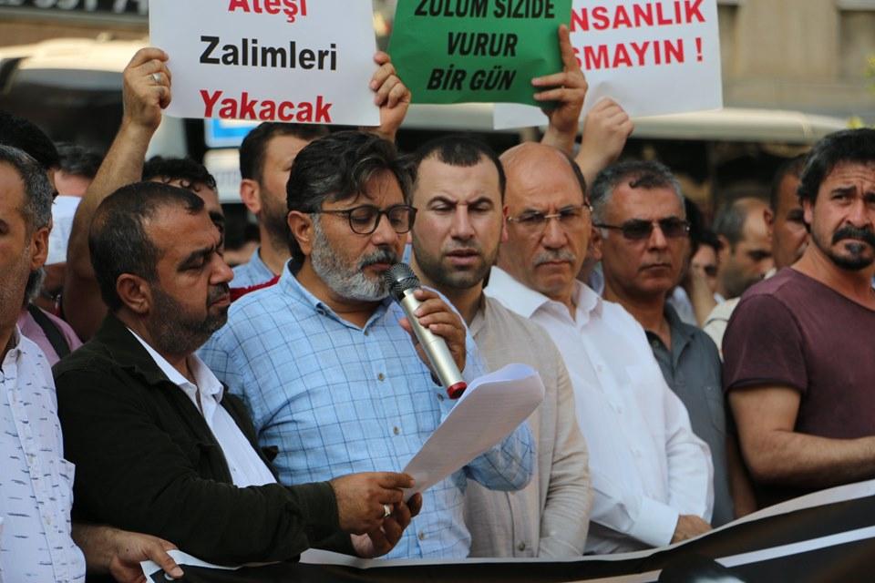 ASİM'den Şehit Mursi İçin YoğunKatılımlı Basın Açıklaması.. 1