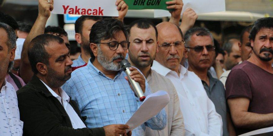 ASİM'den Şehit Mursi İçin YoğunKatılımlı Basın Açıklaması..