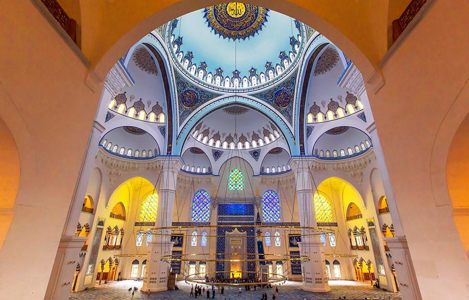 Tevfik Arıkan:Büyük Çamlıca Camii'nden özel kareler.. 1