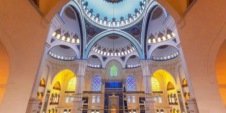 Tevfik Arıkan:Büyük Çamlıca Camii'nden özel kareler..