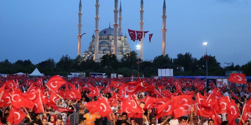 Çukurova'da 15 Temmuz Demokrasi ve Milli Birlik Günü