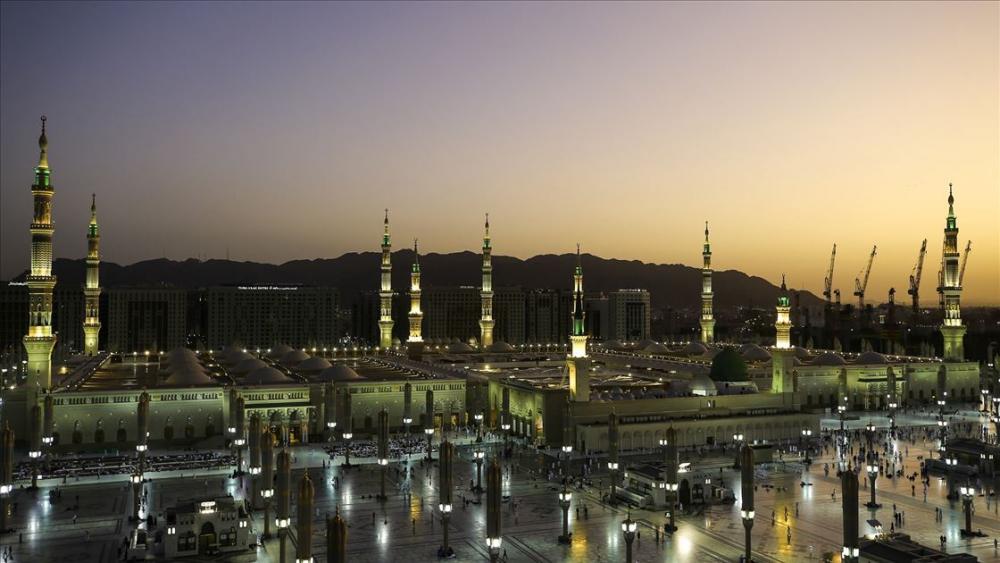 'Peygamber şehri'nde sabah güzelliği 1