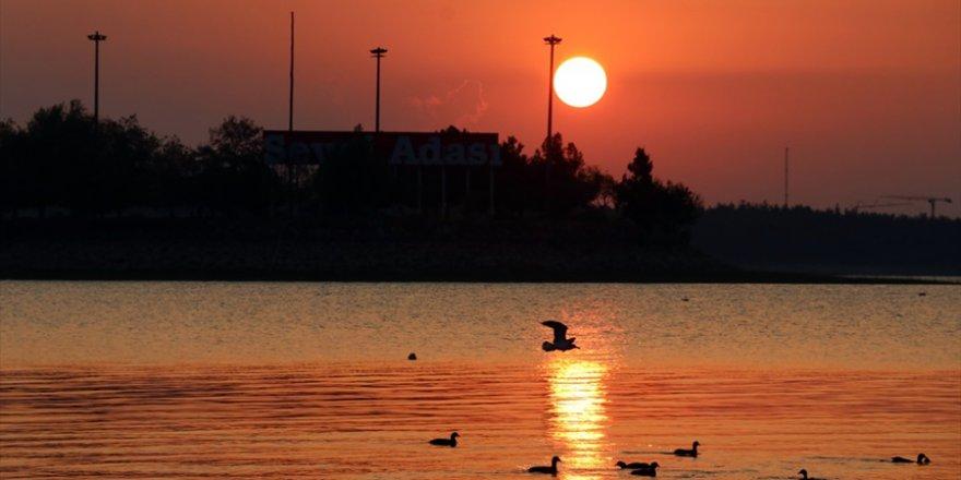 Adana'da gün doğumu