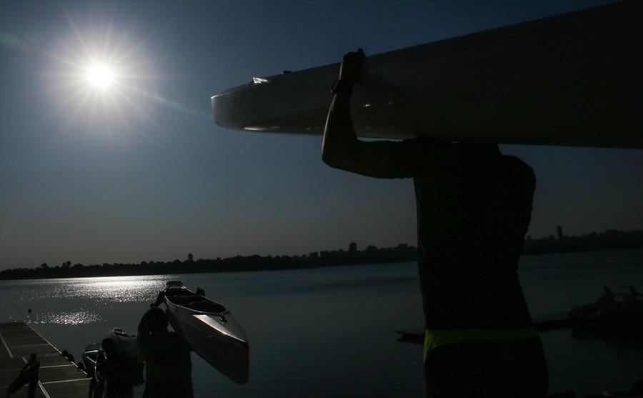 Seyhan Baraj Gölü durgunsu sporunda cazibe merkezi oldu 1