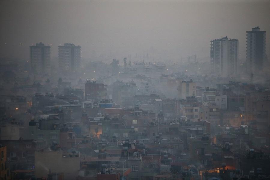 Adana'da hava kirliliği 1