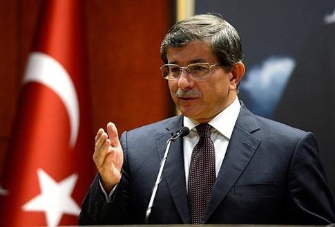 Bakan Davutoğlu, Salihi ile görüştü