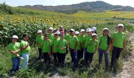 Gıda, Tarım Ve Hayvancılık İl Müdürlüğü?nden Lider Çocuk Tarım Kampı