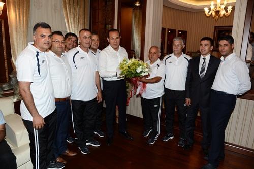 Büyükşehir Belediyesi Futbol Okulunun Hedefleri Yüksek
