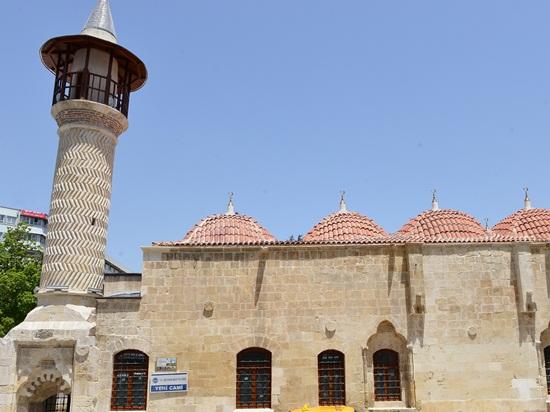Yeni Cami İbadete Açıldı