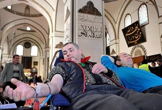 Kan bağışı iftardan sonra