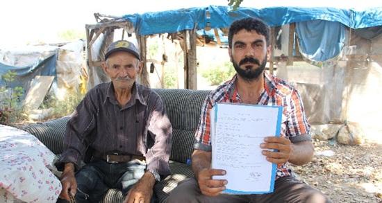 Ramazanoğulları Beyliği'nin mirasçısı olduğunu iddia eden aile çadırda yaşıyor