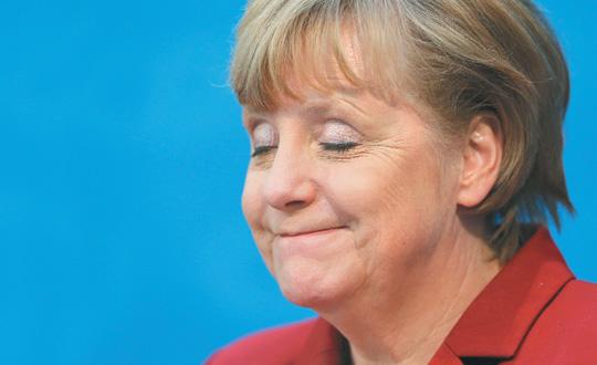 10 kilo veren Merkel, Almanya basınında gündem oldu