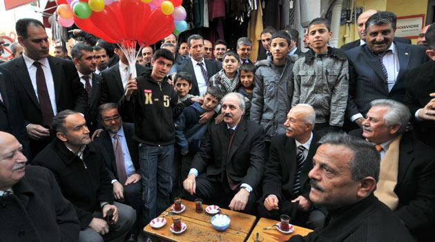Feke Belediye Başkanı Sel?den Vali Coş?a Ziyaret