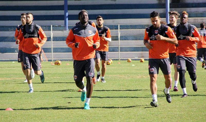 Adanaspor'da Gaziantepspor maçı hazırlıkları