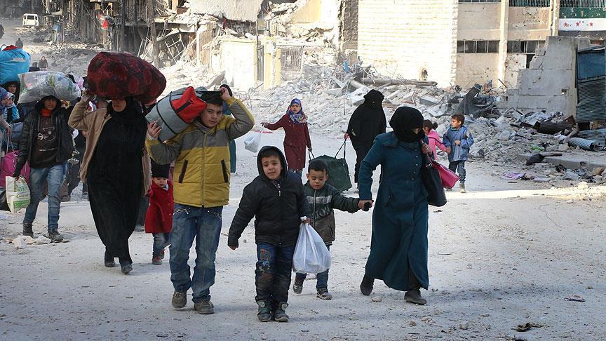 Çalışkan, Halep'te yaşanan katliamla ilgili bir mesajı..