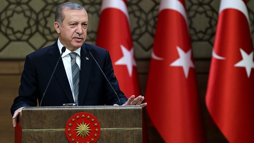 Cumhurbaşkanı Erdoğan: Üzülerek söylüyorum kültür sanatta kopya çektik