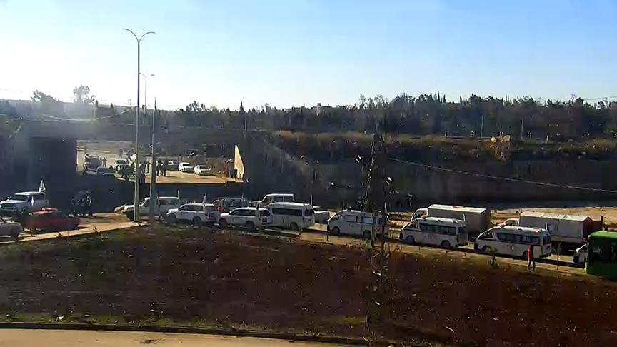 Şii milisler Halep'te tahliye konvoyuna ateş açtı