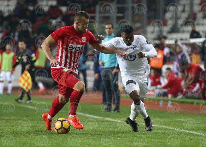 Çaykur Rizespor: 1 - Antalyaspor: 2