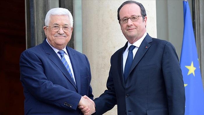 Hollande ve Abbas'dan İsrail'e kınama