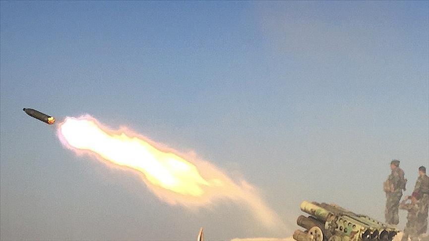 DEAŞ katyuşa füzeleriyle sivilleri vurdu