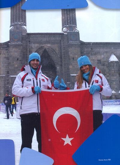 Gazeteci Ramazan Şanıvar'a Erzurum-2017 Kış Oyunları'nda görev