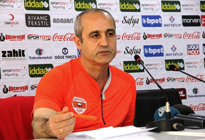 Adanaspor'da gözler Samsunspor maçına çevrildi