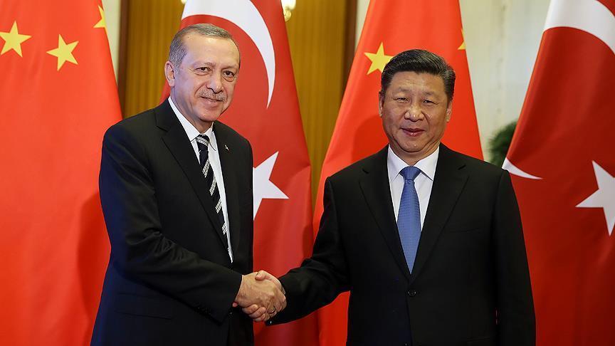 Erdoğan Çin Devlet Başkanı Şi ile görüştü