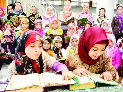Yaz Kur'an kursları başladı??.
