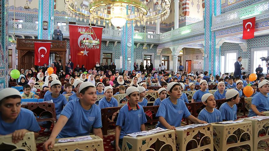 İstanbul'da yaz Kur'an kursları eğitime başladı