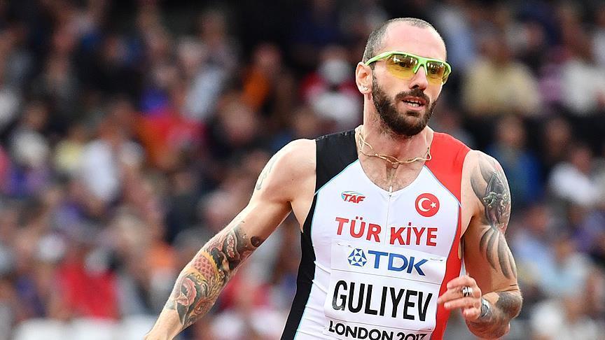 Ramil Guliyev Paris'te ikinci oldu