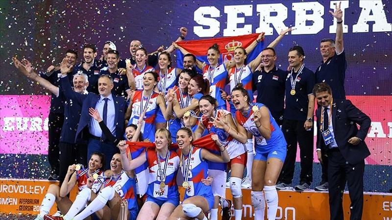 Sırbistan Avrupa şampiyonu oldu