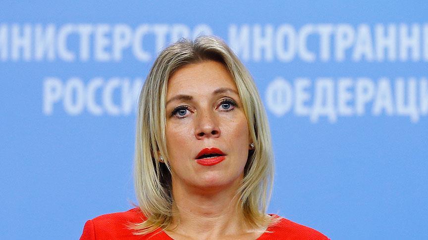 Zaharova: Rusya Fırat'ın doğusundaki gelişmelerden endişeli