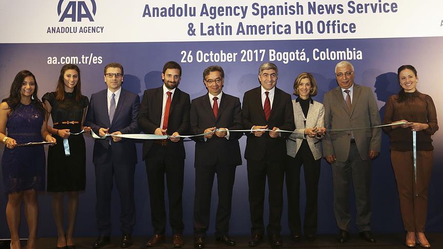 Anadolu Ajansı İspanyolca yayına resmen başladı