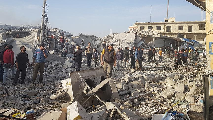 ABD'nin İdlib'e hava saldırısı neyi hedefliyor?