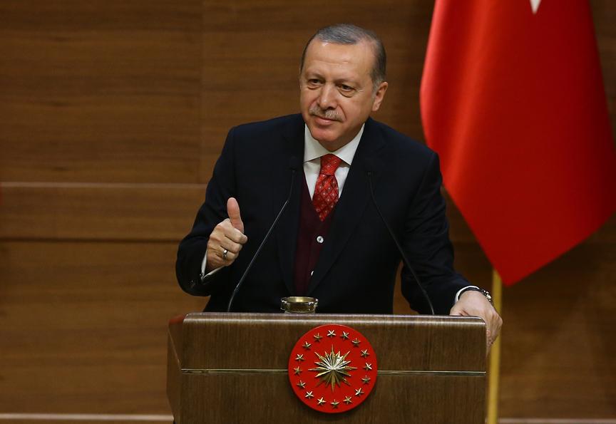 Cumhurbaşkanı Erdoğan'dan Anadolu Ajansına kutlama