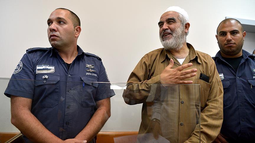 İsrail mahkemesi Şeyh Salah'ı 4 ayrı suçtan mahkum etti