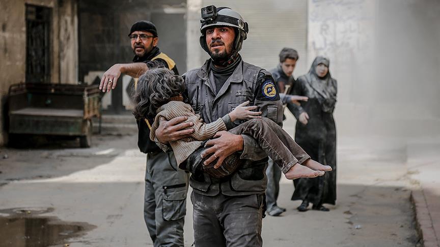 Doğu Guta'da katliam sürüyor: 59 sivil daha hayatını kaybetti