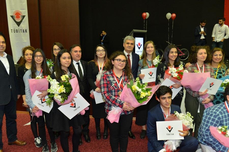 49.TÜBİTAK Lise Öğrencileri Araştırma Projeleri Yarışması Sonuçlandı
